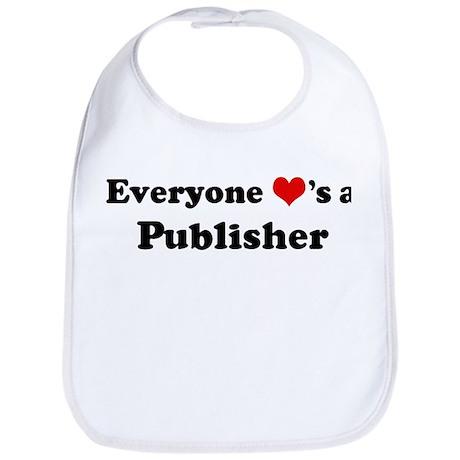 Loves a Publisher Bib