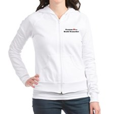 Loves a Braille Transcriber Fitted Hoodie