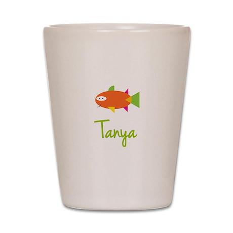 Tanya is a Big Fish Shot Glass