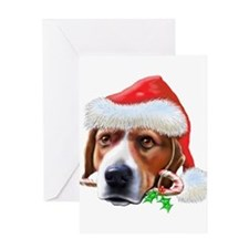 Beagle Christmas (d) Greeting Card