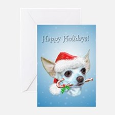 Chihuahua Christmas (a) Greeting Cards (Pk of 20)