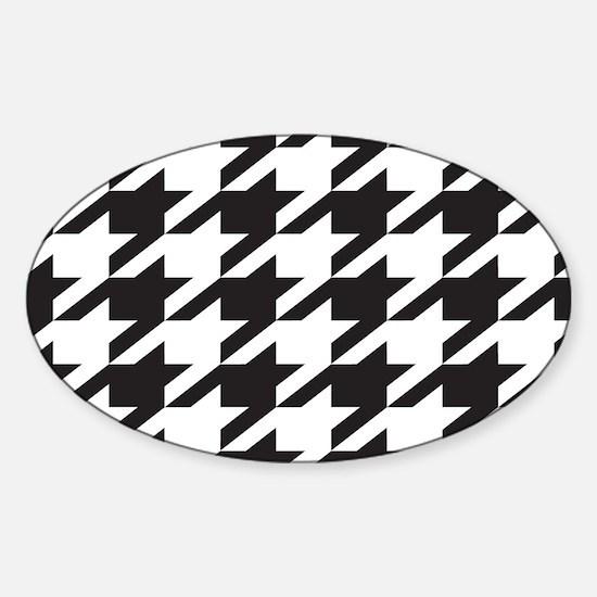 Alabama Houndstooth Sticker (Oval)