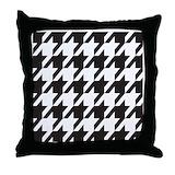 Alabama houndstooth Throw Pillows