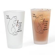 Big Stick & Migraine Drinking Glass