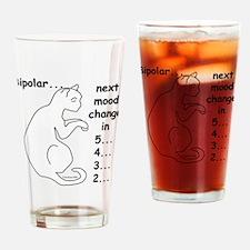 Bipolar Countdown D Drinking Glass