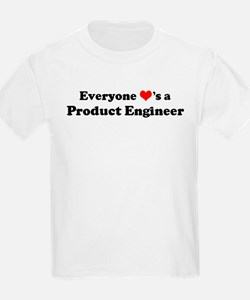 Loves a Product Engineer Kids T-Shirt