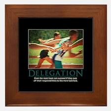 Delegation Framed Tile