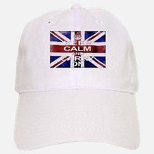 Keep Calm Union Jack Baseball Baseball Cap