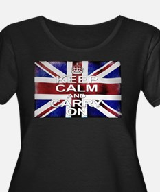 Keep Calm Union Jack T