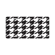 Alabama Houndstooth Aluminum License Plate