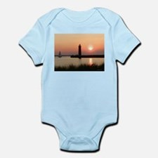Muskegon Lighthouse 1 Onesie