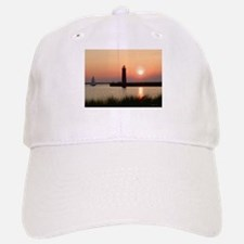 Muskegon Lighthouse 1 Baseball Baseball Cap