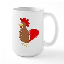 Rooster Design Mug