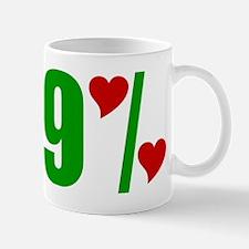 99% Love Mug