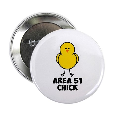 """Area 51 Chick 2.25"""" Button (10 pack)"""