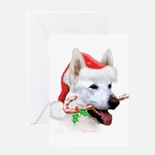 German Shepherd (White/a) Greeting Card