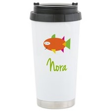 Nora is a Big Fish Travel Mug