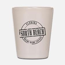 South Beach Title Shot Glass