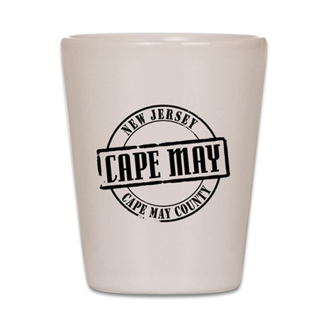 Cape May Title Shot Glass