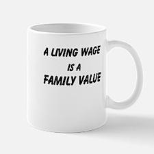 Family Values Mug