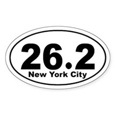 26.2 NYC marathon Decal
