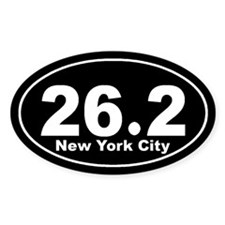 26.2 New York City marathon Decal