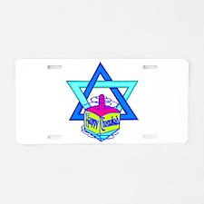 Hanukkah Oh Chanukah Aluminum License Plate