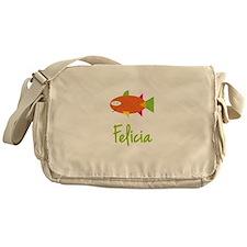 Felicia is a Big Fish Messenger Bag