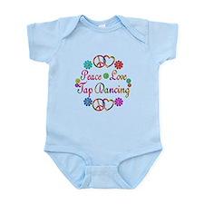 Peace Love Tap Infant Bodysuit