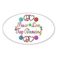 Peace Love Tap Decal