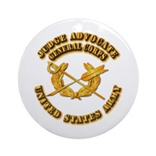 Army - Judge Advocate General Corps Ornament (Roun