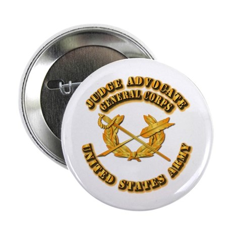 "Army - Judge Advocate General Corps 2.25"" Button ("
