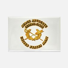 Army - Judge Advocate General Corps Rectangle Magn