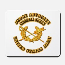 Army - Judge Advocate General Corps Mousepad