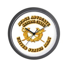 Army - Judge Advocate General Corps Wall Clock