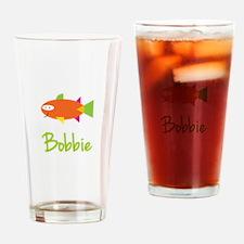 Bobbie is a Big Fish Drinking Glass