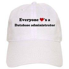Loves a Database administrato Baseball Cap
