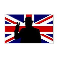 Winston Churchill Victory 22x14 Wall Peel
