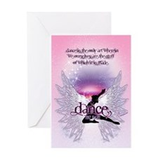 Dance is the Only Art... Greeting Card