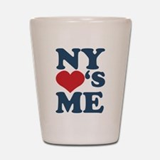 NY Loves Me Shot Glass