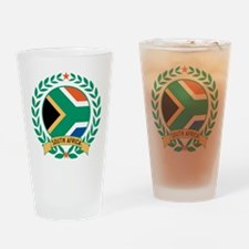 South Africa Wreath Drinking Glass