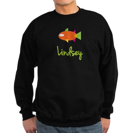 Lindsey is a Big Fish Sweatshirt (dark)