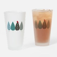 Winter Trees Drinking Glass
