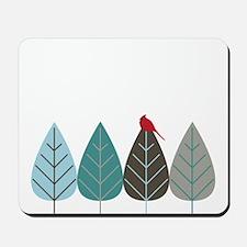 Winter Trees Mousepad