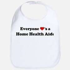 Loves a Home Health Aide Bib