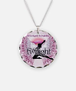 Twilight Crystal Angel by Twibaby Necklace