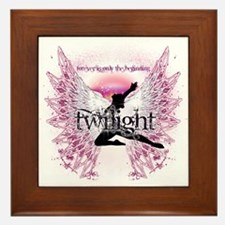Twilight Crystal Angel by Twibaby Framed Tile