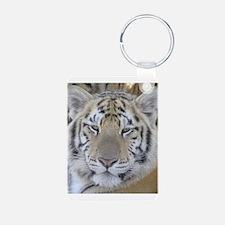 Tiger Portait Keychains