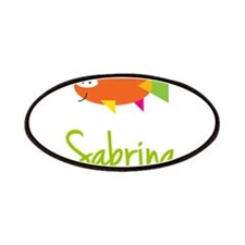 Sabrina is a Big Fish Patches