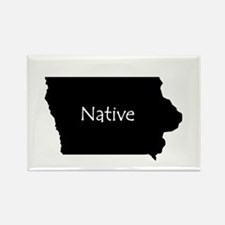 Funny Iowa Rectangle Magnet